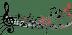 Graphisme - Notation musicale - Erreur 2A (notes et symboles à cheval sur une ou plusieurs lignes et interlignes)