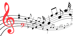 Graphisme - Notation musicale - Erreur 3A (clé de sol centrée sur la portée )