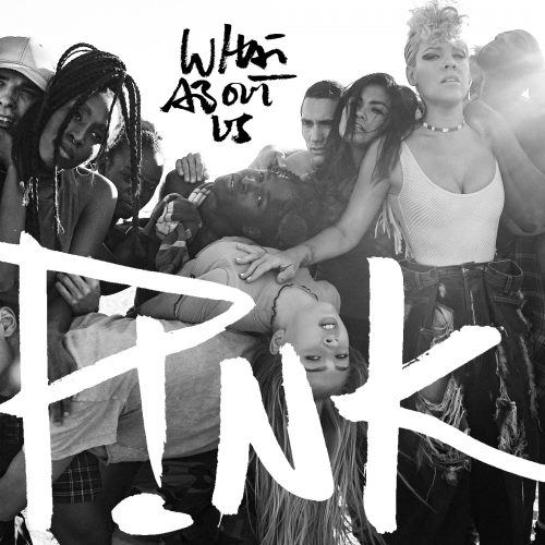 Photographie de la pochette de l'album What About Us de P!nk - Crédit : PNK, P!nk – Journée internationale des femmes